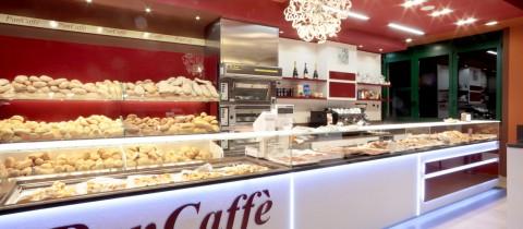 Arredamento panificio e arredamento panetteria bombieri for Arredamento caffetteria