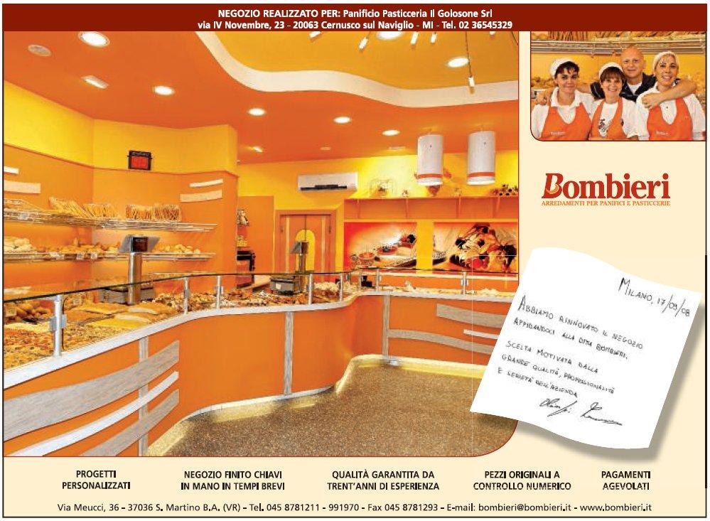 Pubblicit e stampa 2007 2009 bombieri arredamenti Angelo arredamenti cernusco sul naviglio