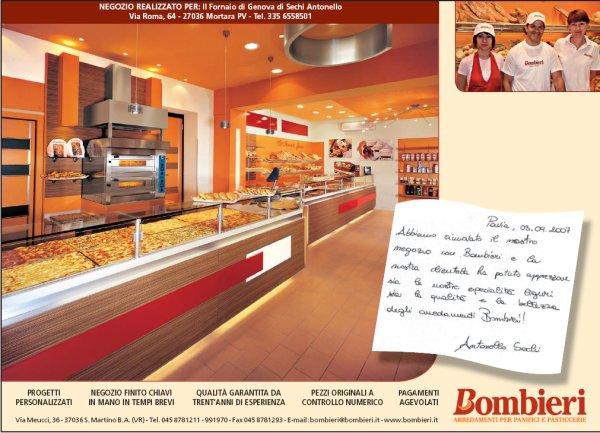 Pubblicità sulle riviste di settore - uscita di Ottobre 2007