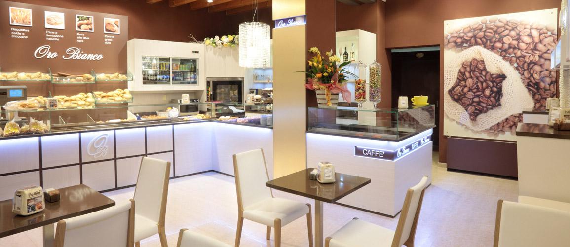 Oro bianco bombieri arredamenti for Arredamento caffetteria