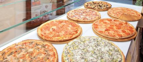 Arredamento pizzeria al taglio arredamento pizza al for Arredamento per pizzeria