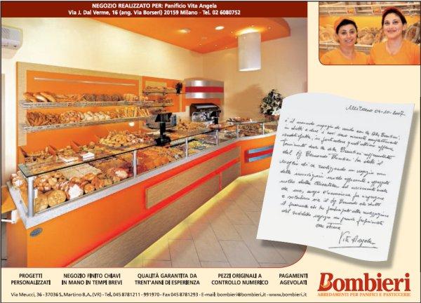 Pubblicità sulle riviste di settore - uscita di Novembre 2007